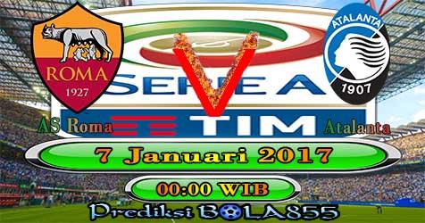 Prediksi Bola855 AS Roma vs Atalanta 7 Januari 2018