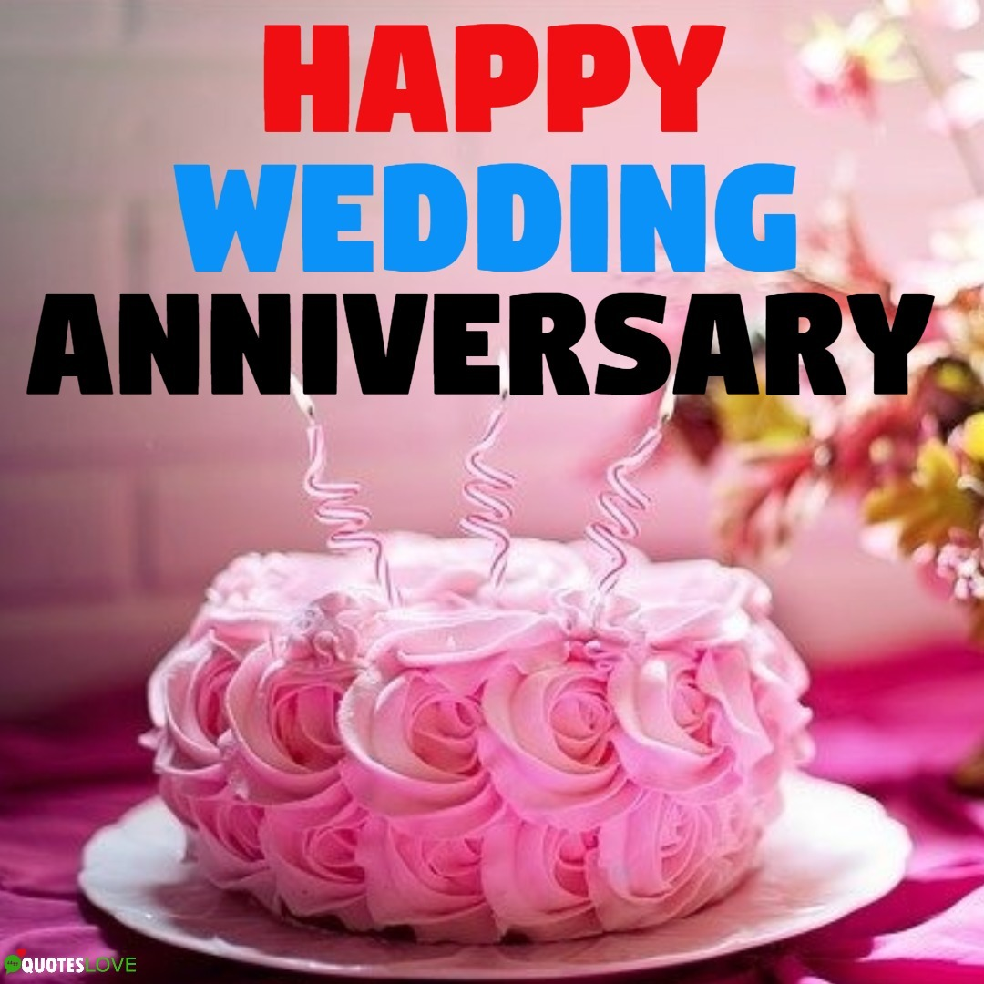 (Latest) Happy Wedding Anniversary Cake