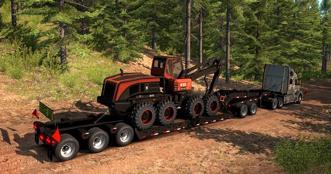 SCS Software lança pacote de equipamentos florestais para o American Truck Simulator