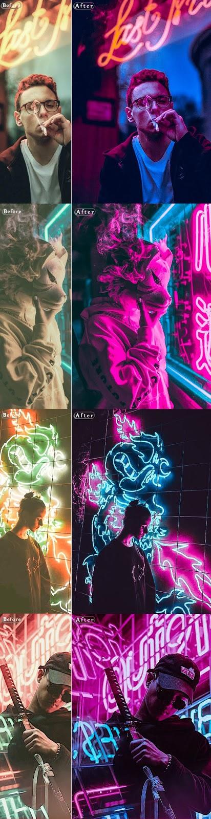 Cyberpunk   Life Styles Photoshop Action 26583405