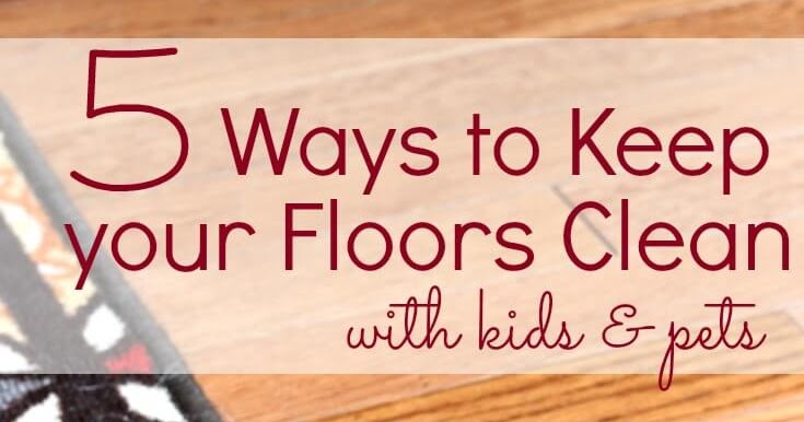 5 Ways To Keep Your Floors Clean With Kids Amp Pets Sunny