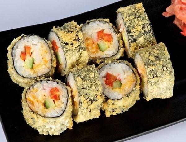 Cùng làm món Sushi chiên xù tại nhà thơm ngon giòn rụm