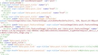 Cách sử dụng thẻ b:attr và b:class trong blogspot