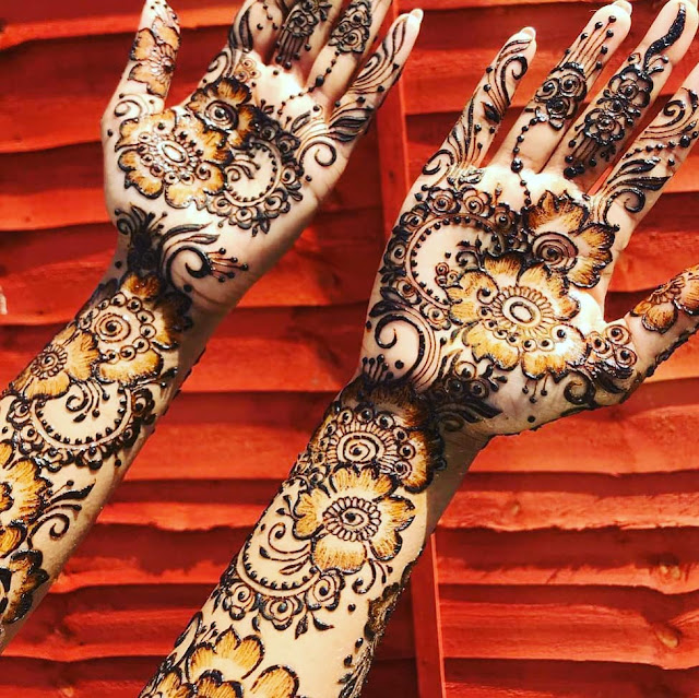 simple arabic mehndi designs 2019