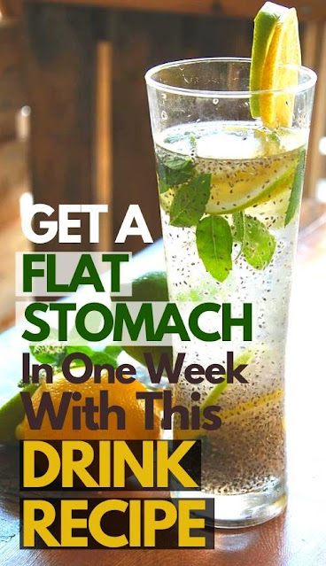 How To Deflate Your Belly With Lemon and Chia