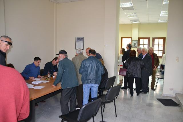 Πρέβεζα: Μεγάλη προσέλευση για τις εκλογές του νέου φορέα της Κεντροαριστεράς