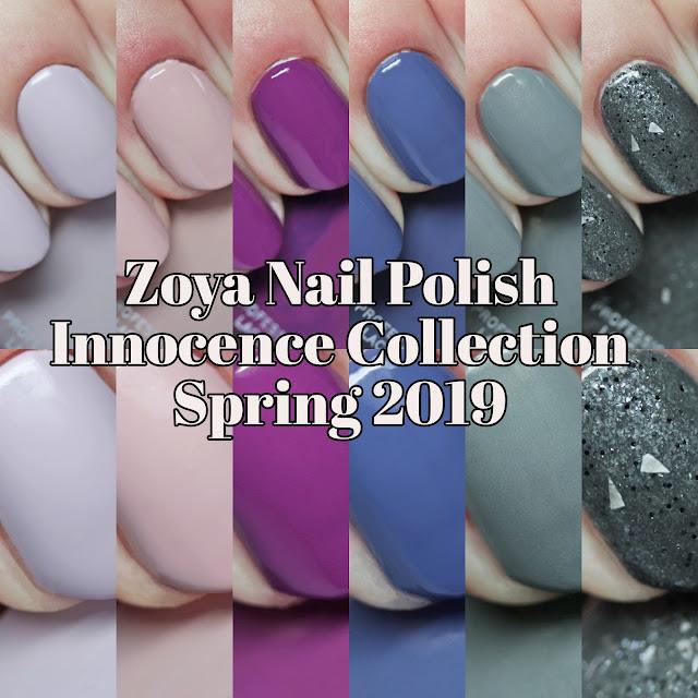 Zoya Nail Polish Innocence Collection Spring 2019
