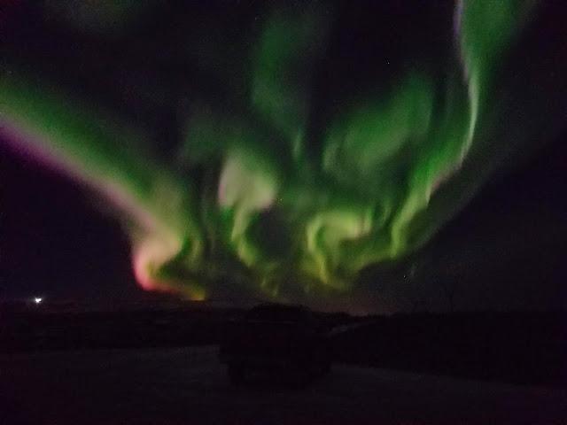 Amazing Aurora Borealis aka Northern Lights shows