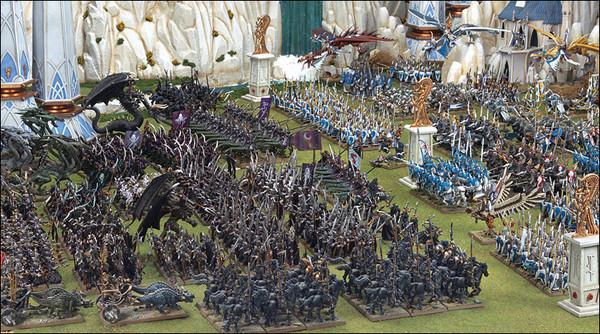 Resultado de imagen de ejército enorme de warhammer