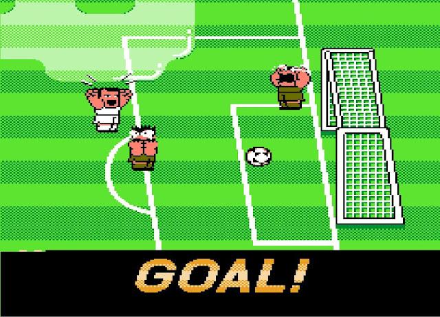 Game sepak bola nes kocak