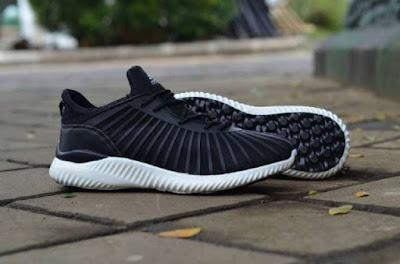 Sepatu Adidas Alphabounce Engineered Men (import) Black