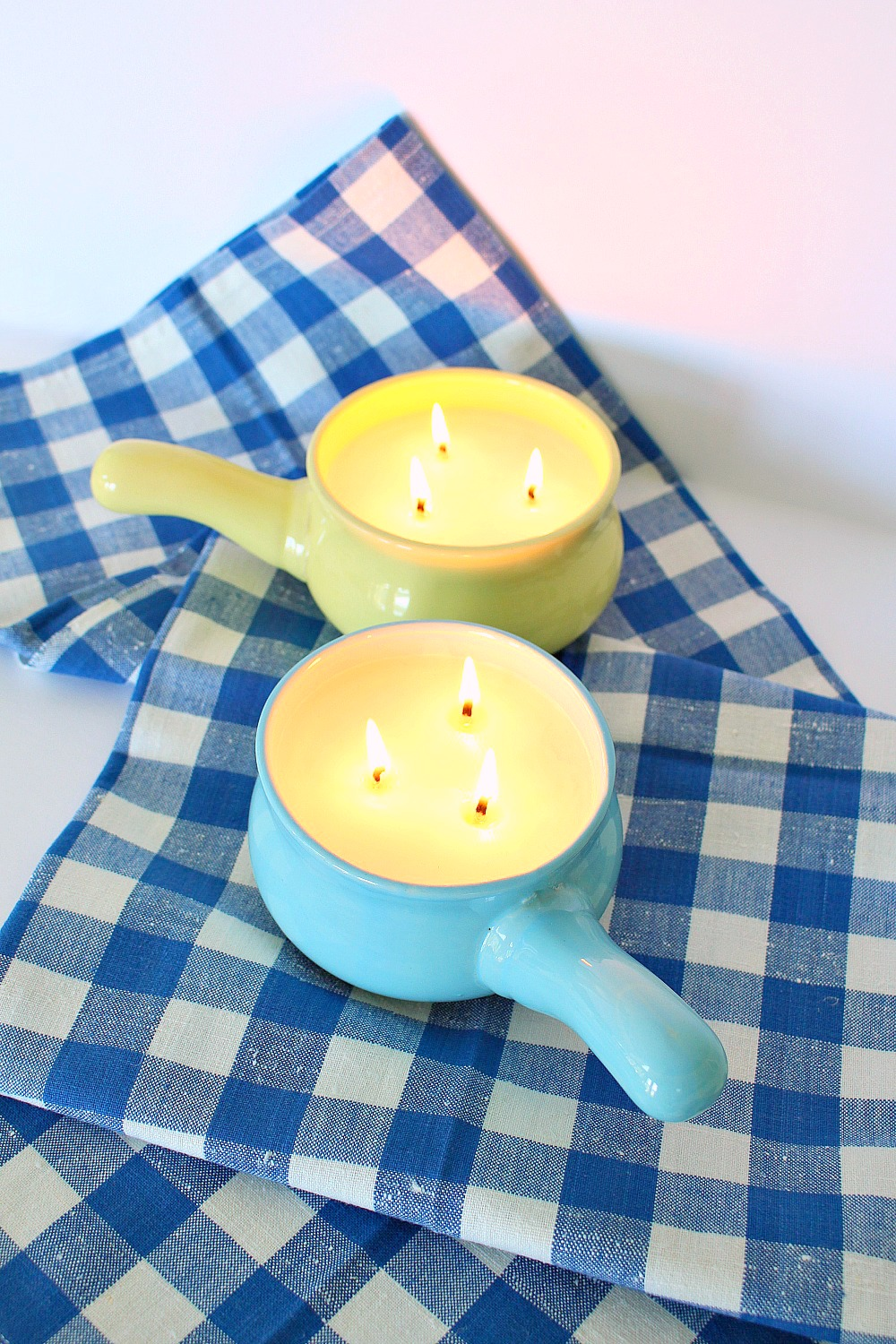 DIY Citronella Oil Poured Soy Candles