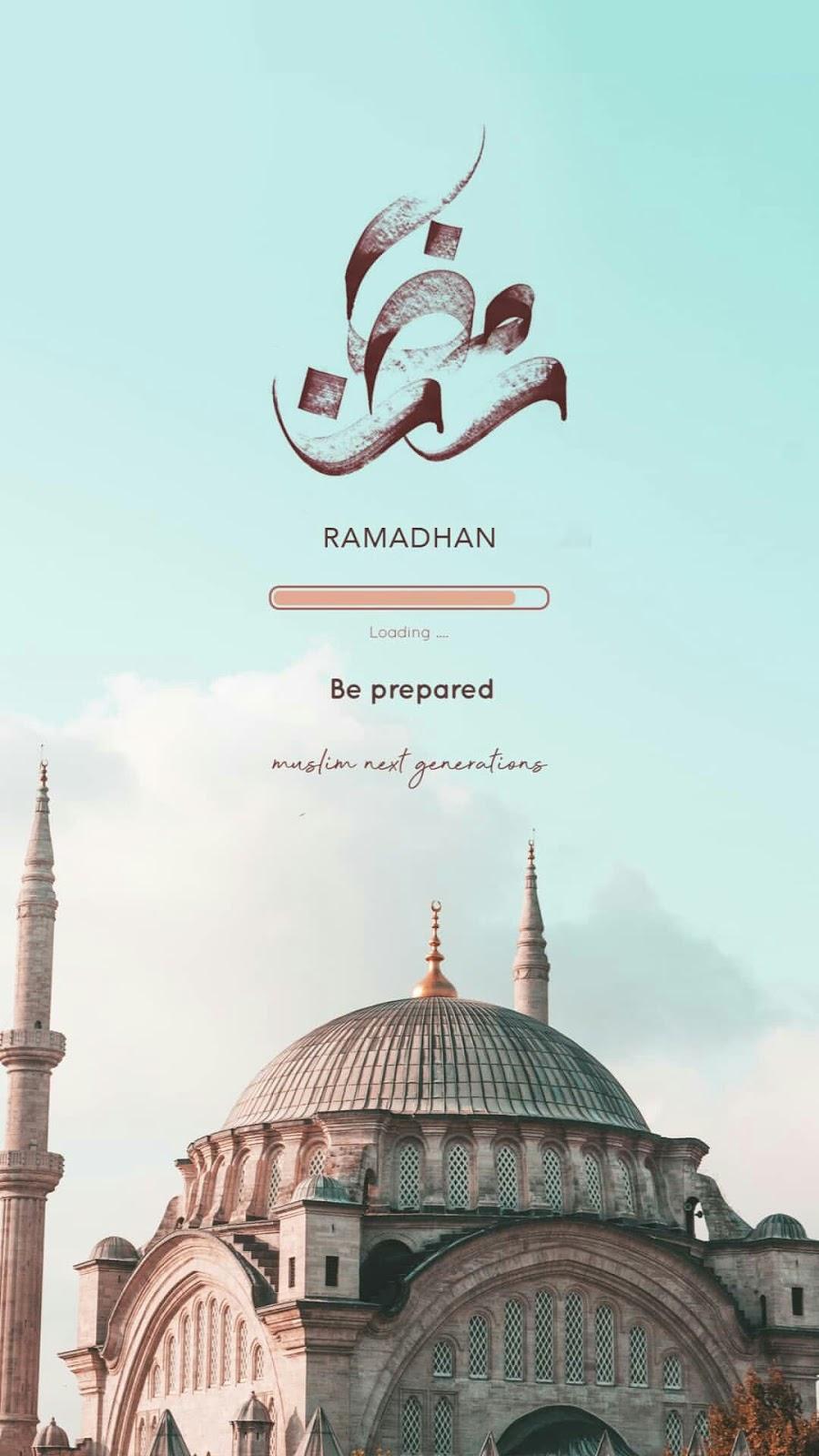 Wallpaper Ramadhan Keren Untuk HP Ukuran HD kaligrafi indah