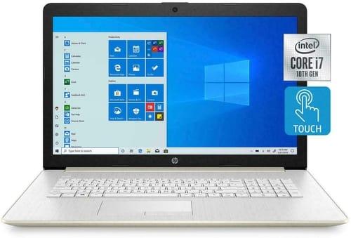 Review 2020 HP 16U74UA 17.3 HD+ LED Touchscreen Laptop