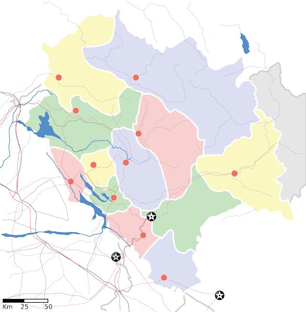 Map of Himachal Pradesh