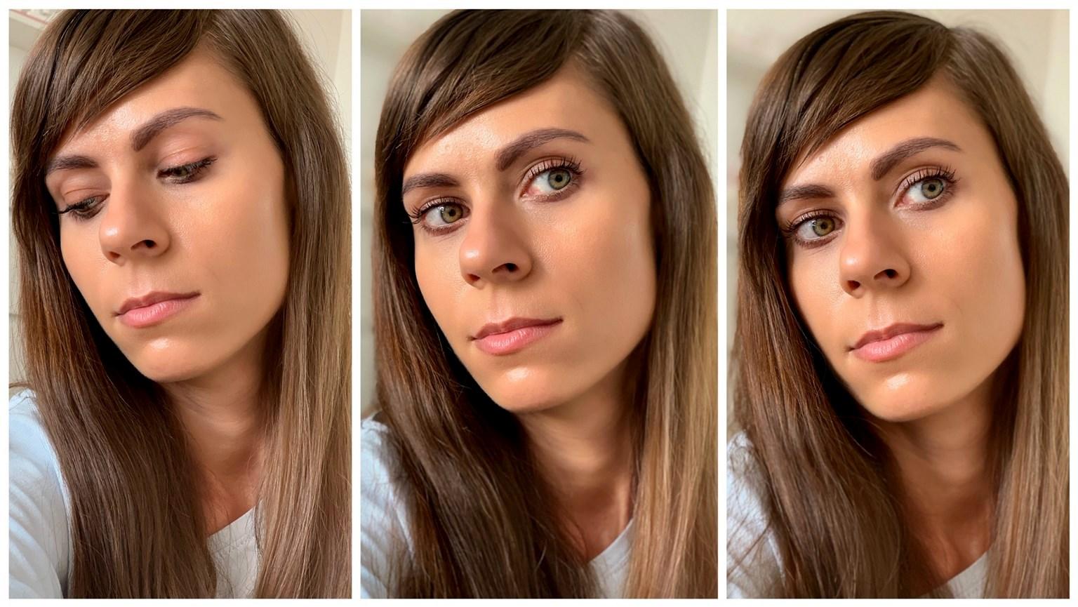 krem BB Miya Cosmetics efekt na twarzy