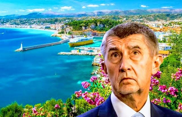 Con una estructura offshore el primer ministro checo Andrej Babis compró un castillo en la Riviera Francesa