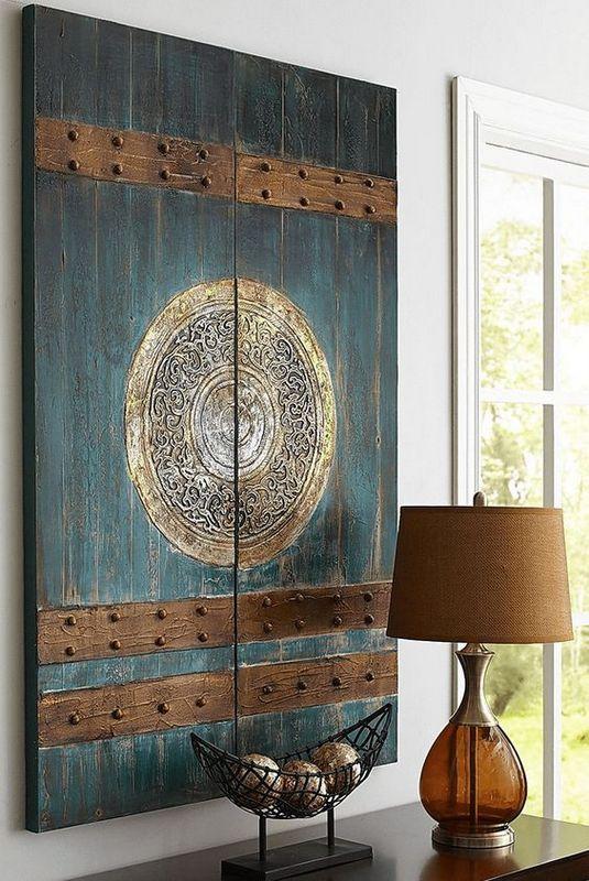 Ξύλινα Διακοσμητικά Τοίχου με Ανατολίτικο-Ασιατικό Design