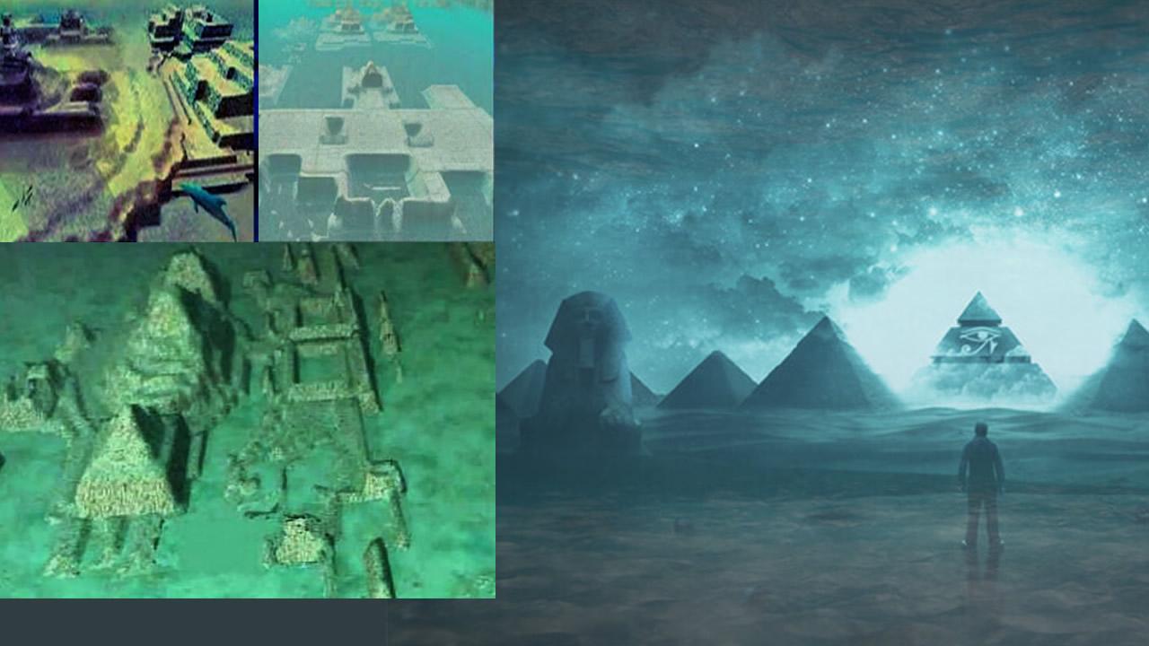 Pirámides sumergidas en la costa de Cuba conteniendo Tecnología Antigua Avanzada