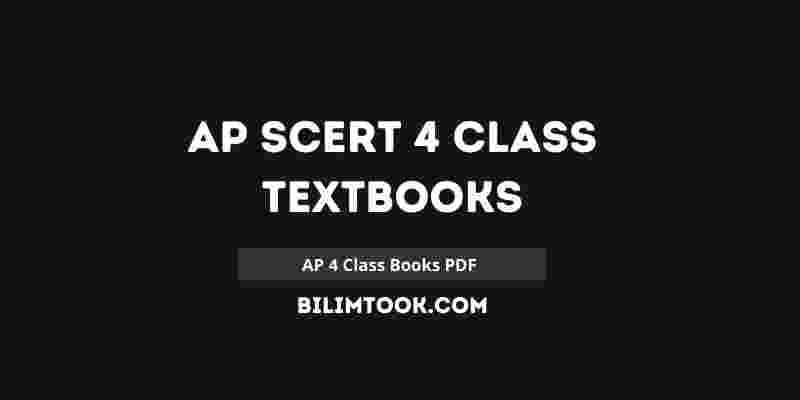 AP SCERT Class 4 Books PDF 2021 | Andhra Pradesh 4th Books