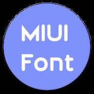 MiFonter - MIUI 10, 11, 12