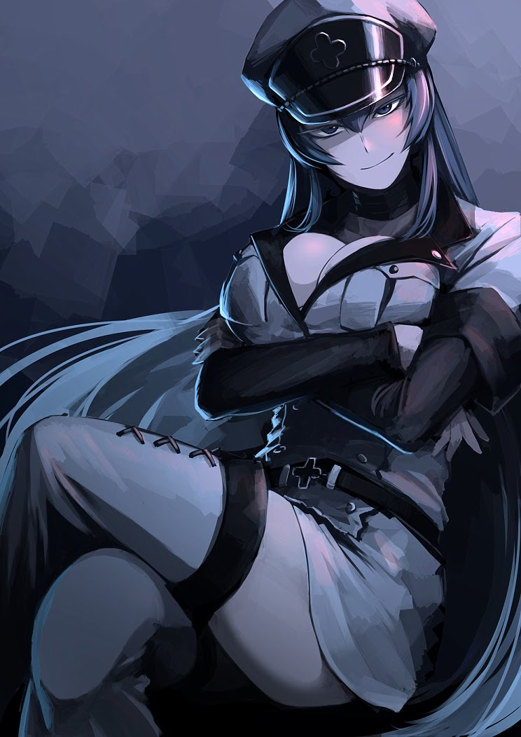 angry esdeath