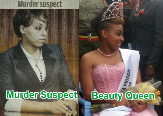 murder suspect prison beauty pageant kenya