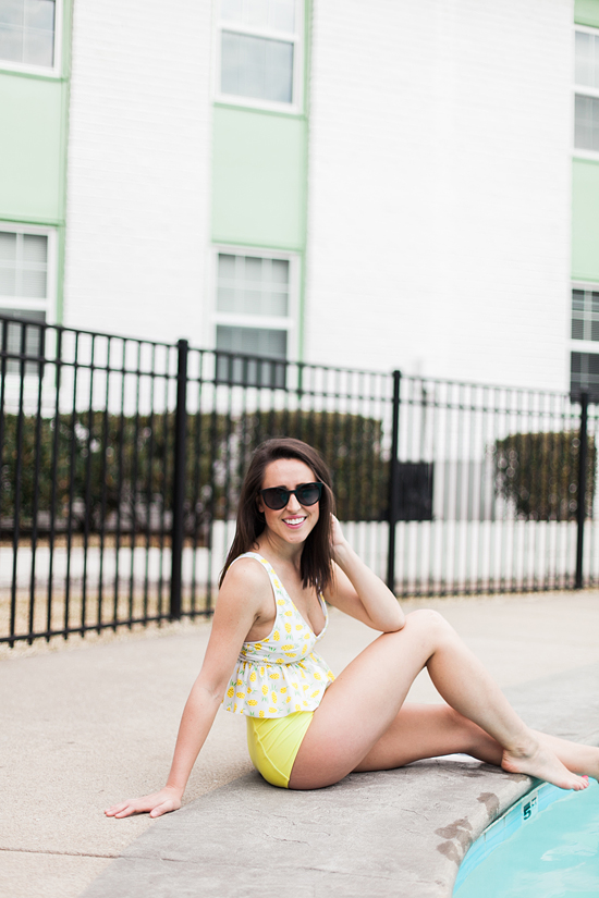 Here&Now: Kortni Jeane mix and match swim suit