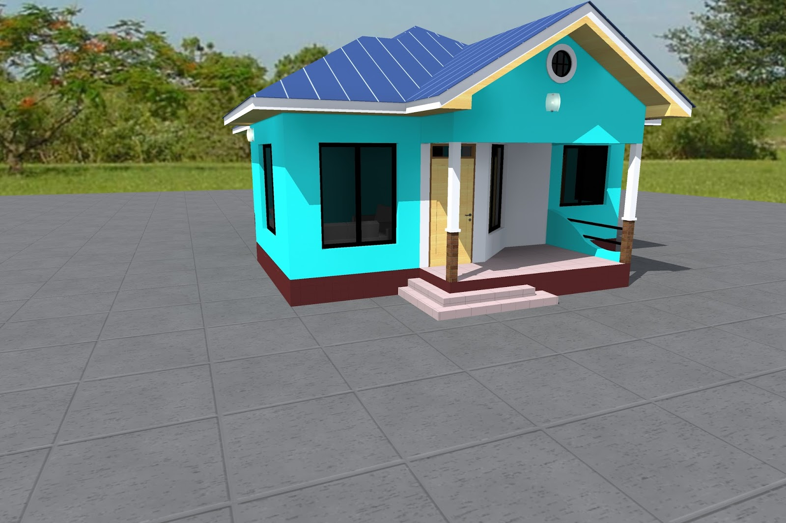 3 bedrooms house plan id ma 004