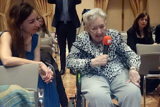 María Luisa Ozaíta, homenajeada por su defensa del papel de la mujer en la composición