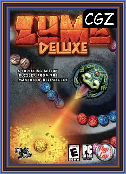 Zuma Deluxe Pc GamePlay Cover