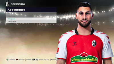 PES 2021 Faces Vincenzo Grifo by VikingDuck13