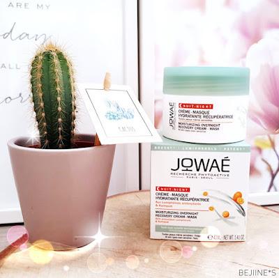 JOWAÉ - Crème masque-hydratante récupératrice nuit