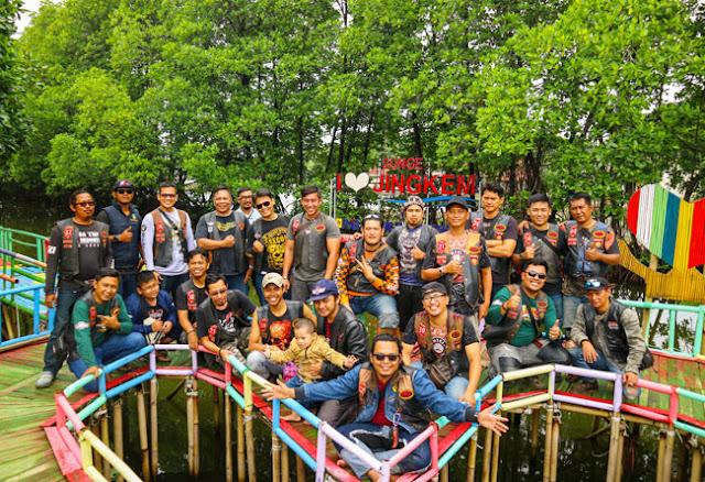 Dukung Wisata Bekasi, Club Motor Kunjungi Sunge Jingkem dan Sungai Rindu Sembilangan