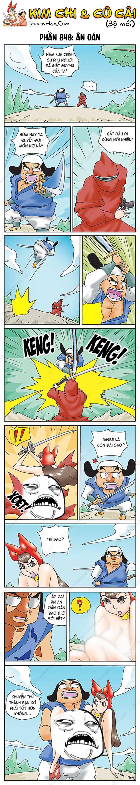 Kim Chi & Củ Cải (bộ mới) phần 848: Ân oán