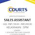 JAWATAN KOSONG COURTS (MALAYSIA) SDN BHD AMBILAN NOVEMBER-DISEMBER 2019