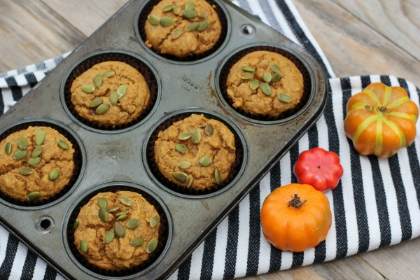 Pumpkin Muffins Small Batch