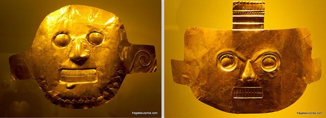 Más funerárias da cultura Calima no Museu do Ouro de Bogotá