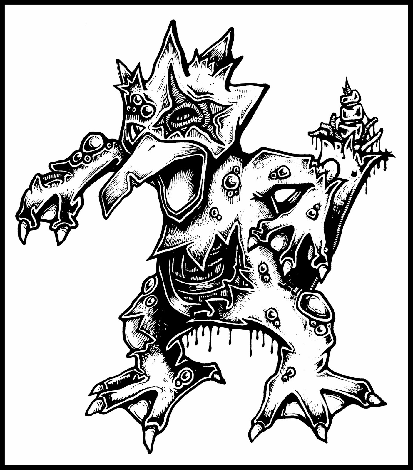 New Zombie Pokemon Daryl Hobson Artwork