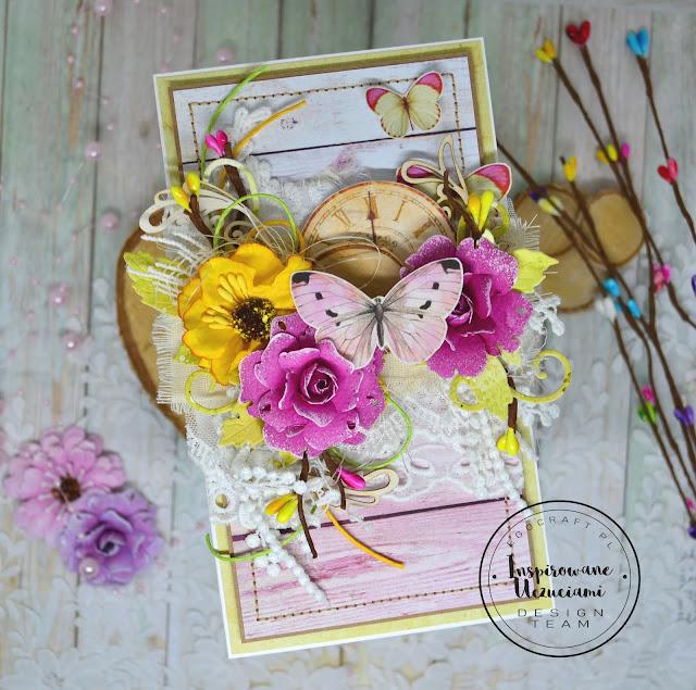 Kartka przywołująca wiosnę :)