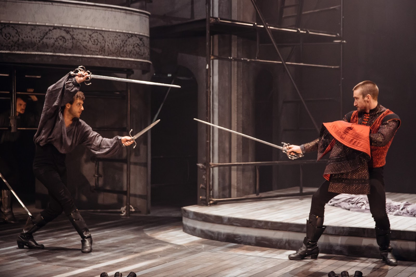romeo and juliet stage directing Fifty shades of shakespeare  melissa mcnamara - devisor, actor, movement  director  using an equal blend of shakespeare's text and devised movement,.