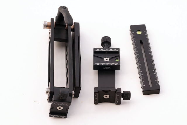 Hejnar Photo Modular Gimbal Head components