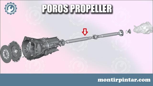 fungsi poros propeller pada mobil