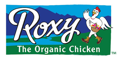 Roxy the organic chicken from Draper Valley Farms