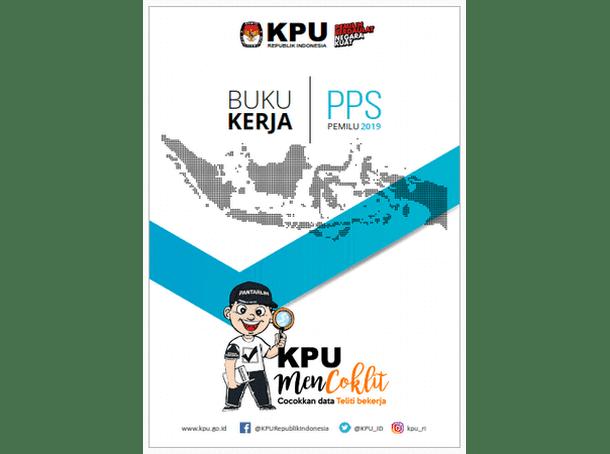 Buku Kerja PPS (Panitia Pemungutan Suara) PEMILU 2019