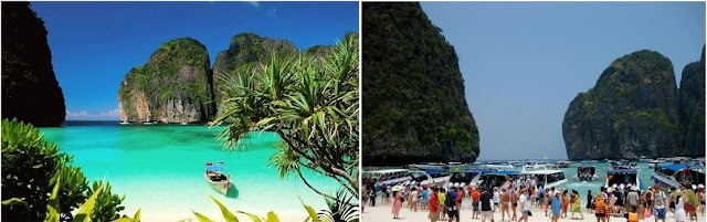 Koh Phi Phi island closes its beach to visitors