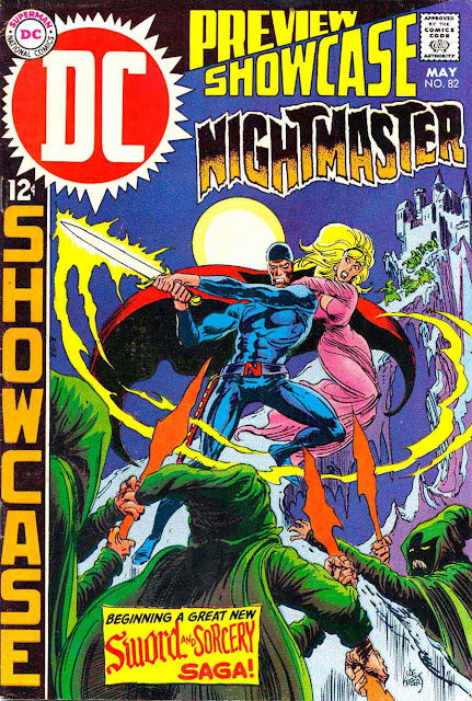 Showcase v1 #82, 1969 dc silver age comic book cover - 1st Nightmaster