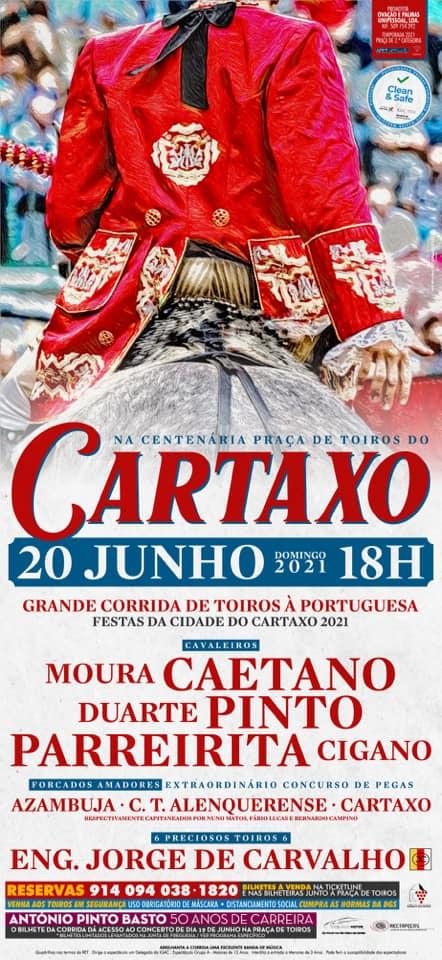 Adiada a corrida de toiros do Cartaxo prevista para este domingo