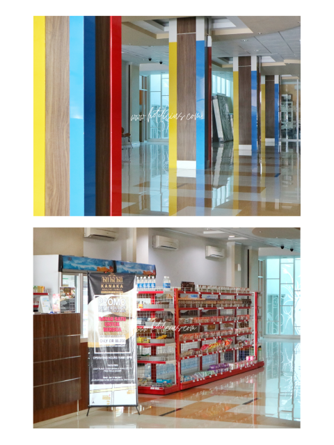 Koridor dan Mini Store Hotel Citihub Hotel Gejayan Yogyakarta