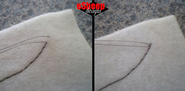 Tip for a Neat Top Thread Finish